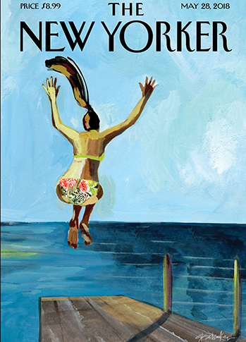 one new yorker covers
